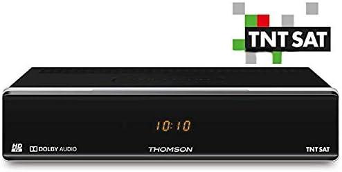 Receptor satélite TNTSAT HD SIN Tarjeta: Amazon.es: Electrónica