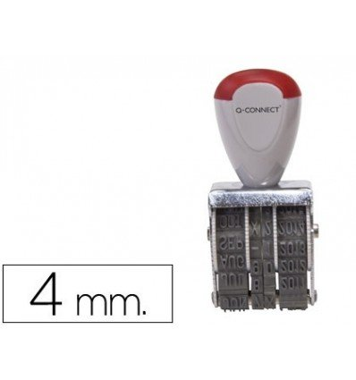 Q-Connect KF22370 - Fechador con banda para 12 años, 4 mm