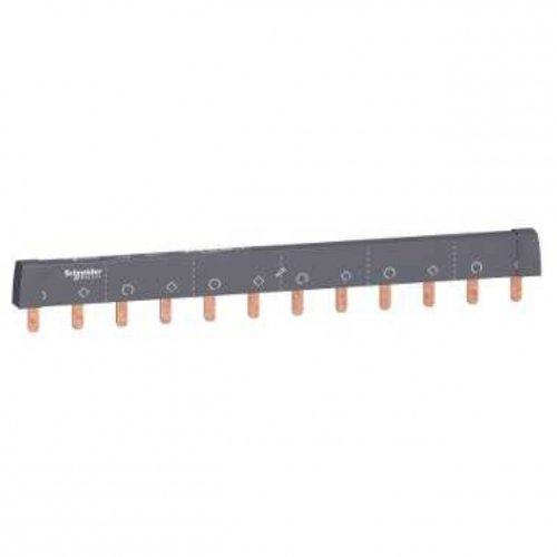 Schneider Electric A9XPH212 Acti 9, Peines de Conexión, Fácil de Cortar, 2P 12 Módulos 100A
