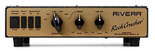 Rivera RockCrusher Gold Face Power Attenuator/Load Box for Amps