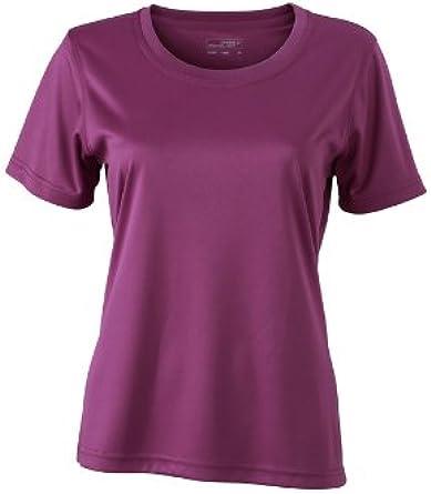 James & Nicholson Funktions T-Shirt Ladies Active - Camiseta/Camisa Deportivas para Mujer: Amazon.es: Ropa y accesorios