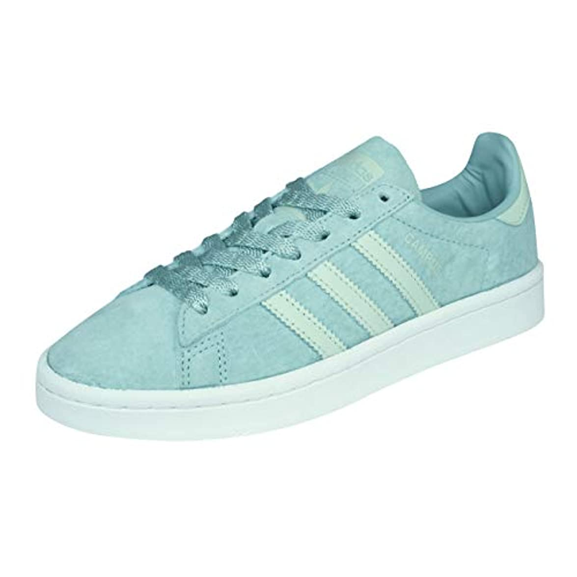 Adidas Campus W Tactile Green Linen White
