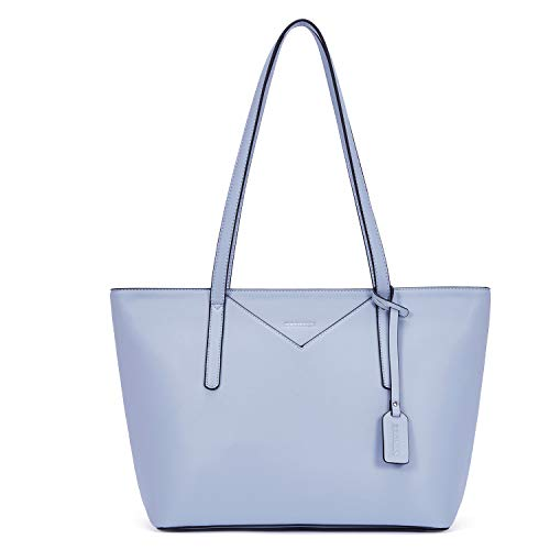 BROMEN Women Leather Tote Handbag Designer Shoulder Purses Casual Purses and Handbags