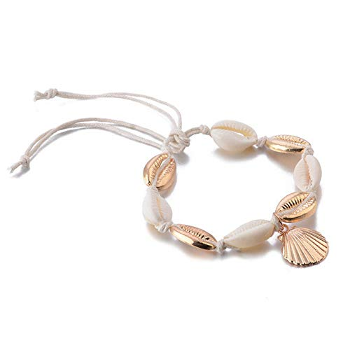 Amazon.com: Bohemian Color Anklet Bracelet On The Leg ...
