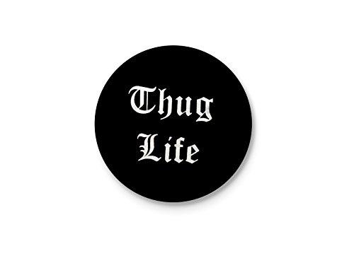 Thug Life   Funny Typographic Badge
