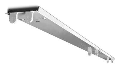 Howard Lighting FSR84432ASEMV000000I Fluorescent Strip Channel Retrofit Kit with Two 4-Feet Gear Trays