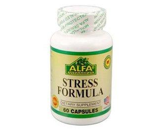 Amazon com: Alfa Vitamins Stress Formula 60 caps Relieves