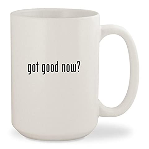 got good now? - White 15oz Ceramic Coffee Mug Cup (The Good Wife Season 6 Watch Now)