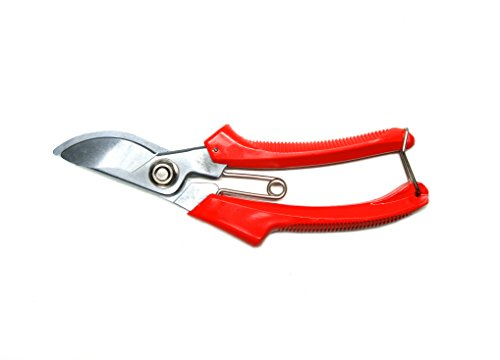 Bypass Pruning Shears Garden with Safety Lock, Steel Hand Pruner SB-708 200mm by Sinseung