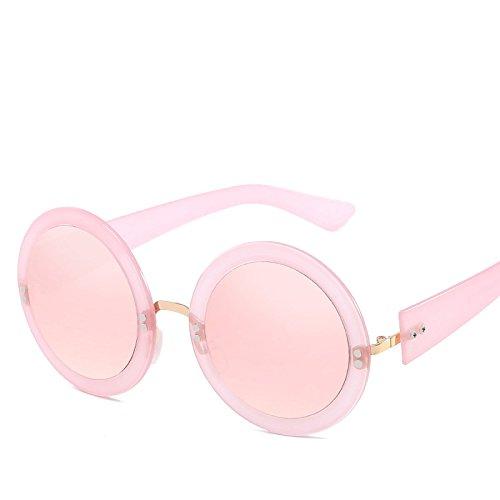 Vacaciones Personalidad Sol Gafas Moda N01 De Retro Mujer De Gafas Marco Redondo Viajar Conducir NO3 Sol Sombrillas xqOgqwv