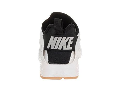 Nike Air Huarache, Scarpe da Ginnastica Uomo White /Black /Gum Yellow