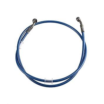 Tubo de Tubo de Manguera de Aceite de Embrague de Freno de Acero Trenzado de Motocicleta para Racing Dirt Bike-Blue: Amazon.es: Hogar