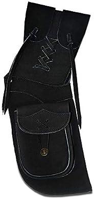 UNIVERSE ARCHERY Back Arrow Quiver   Genuine Suede Leather Arrow Holder   Traditional H-Grade Handmade Quiver