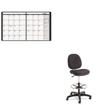 KITAAG7026005ALEIN4611 - Value Kit - Best Interval Series Swivel Task Stool (ALEIN4611) and At-a-Glance Recycled Monthly Planner (AAG7026005) by Best