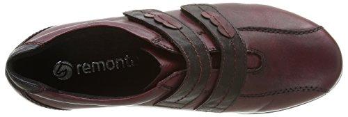 Remonte R9823 35, Damen Slipper Rot (rouge Combiné)
