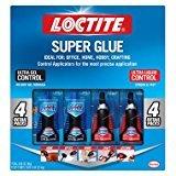 Loctite Super Glue - (2) UltraGel 4g + (2) Ultra Liquid 4g - Value Pack