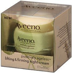 Aveeno Positively Ageless Lifting and Firming Night Cream - 1.75 Oz by J&J HEALTHCARE . (English Manual)