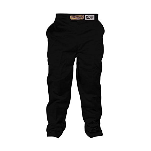 Black Racing Pants Only, SFI-1, Medium by Speedway Motors