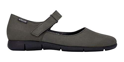 Mephisto Walking Shoes - Mephisto Women's Jenyfer Flats Grey Nubuck 8 M US