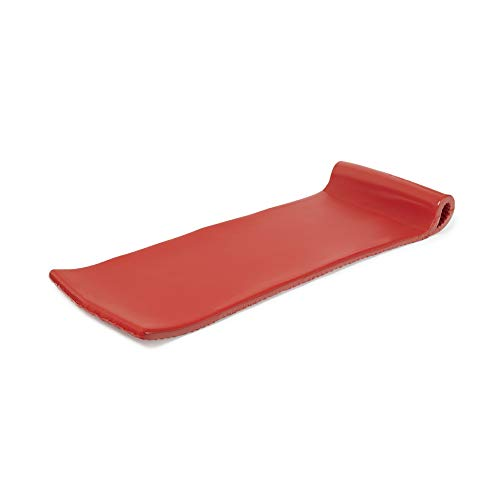 TRC Recreation Serenity 70 Inch Foam Raft Lounger Swimming Pool Float, Coral