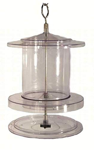 Songbird Essentials SEAWFFF734 Clear 4qt All Weather Feeder (Set of 1) from Songbird Essentials