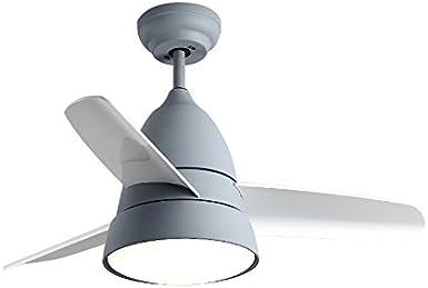 Moderne 3 lames Lumière seule Ventilateur de plafond Avec