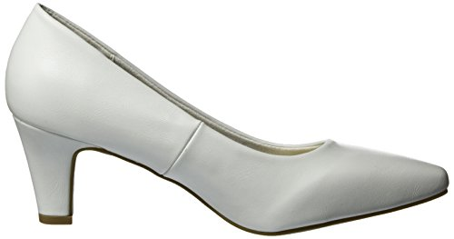 Klain 787 bianco Bianco Donna Jane 224 101 Scarpe Punta Col Chiusa Tacco qgzEdvx