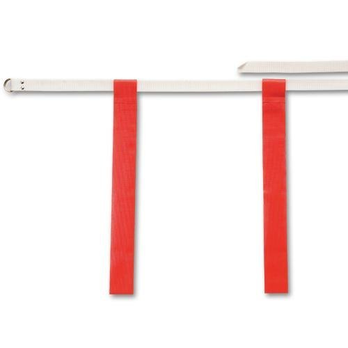 (Flag-A-Tag Adjustable Flag Belts, Red)