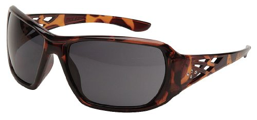 ERB Safety Products 17957 Rose Tortoise Shell Frame, Smoke Lens, One Size, Brown - Safety Glasses Brown Lens