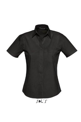 SOL´S - Ladies Poplin Shirt Energy M,Black