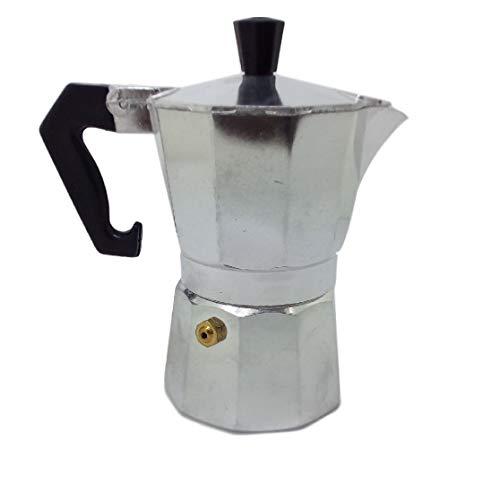 Ducomi Moka Express – Cafetera expreso de aluminio – Mango térmico para un café italiano cremoso y especial – 3 tazas…