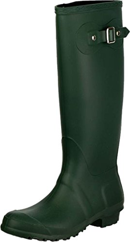 Buckle Ladies Cotswold New Shoes Up Wellington Womens Sandringham Welly Green Boots RtRBqdw