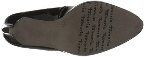 Donna Chiuse black Con Nero Tamaris22448 Scarpe Patent Tacco 018 qtRwW6I