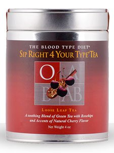 D'Adamo Personalized Nutrition Sip Right 4 Your Type Tea O, 4 Ounce Review