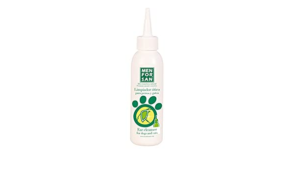 Amazon.com: Limpiador Ótico 125 ml - Para Perros y Gatos - Menforsan: Beauty