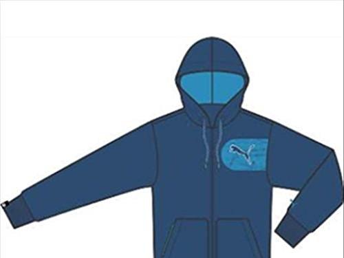 Jkt Et De Homme Libre Bleu Graphic estate Pour Puma Temps Blue Hooded nbsp;– Dresden Blue nbsp;veste XEWSY