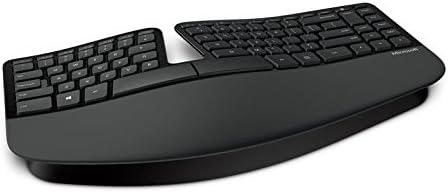 Microsoft Sculpt Ergonomic for Business (Versión extranjera) Teclado (Estándar, Inalámbrico, RF Wireless, QWERTY, Black)