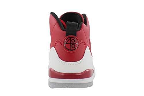 NIKE Air Jordan Spizike BP Kleinkinder Basketball Schuhe Gym Red Gym Rot / Schwarz / Weiß / Wolf Grey