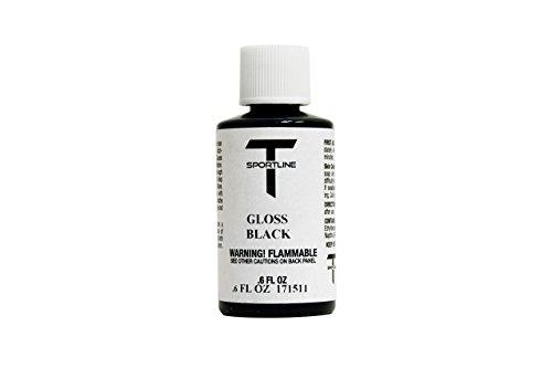 T Sportline Tesla Wheel Touch Up Paint - Gloss Black (Best Black Paint For Rims)
