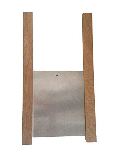 ChickenGuard Chicken Coop Pop Door Kit - Oak Runners & Aluminum Door Panel