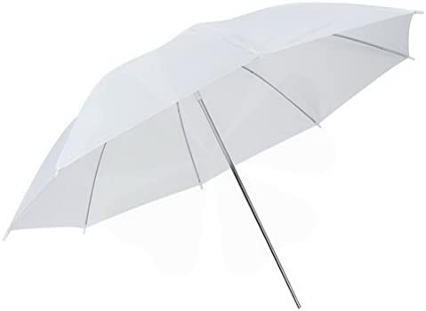 Folding White Umbrella Shoot-Through Translucent by Ucland 36 Studio Lighting Umbrellas