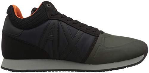 Black A Armani climbing Exchange X Retro Running Ivy Men YxArYvTq