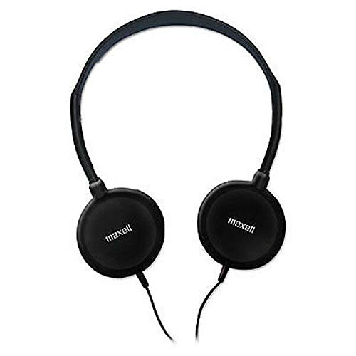 Maxell 190318 Lightweight Adjustable Open Air Portable Stereo Headphones with Dynamic Sound Reproduction, 32 Ohms