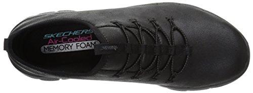 Skechers Donna Nero ginnica Scarpa 12624 XBgqwBO
