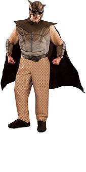 [Rubie's Costume Co Men's Plus-Size The Watchmen Night Owl Plus Size Costume, Brown, 1X] (Man Of The Nights Watch Costume)