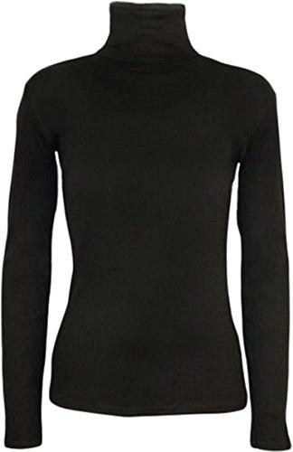 Femme WICKEDFASHIONS123 Noir 38 Noir Pull taille unique Z88xafOwq