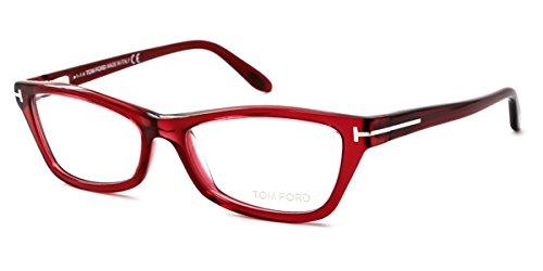 TOM FORD Eyeglasses FT5265 068 Red ()