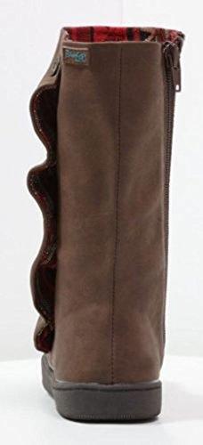 BlowfishPrecise Coffee PU Damen Mid Calf Winter Schuhe Stiefel
