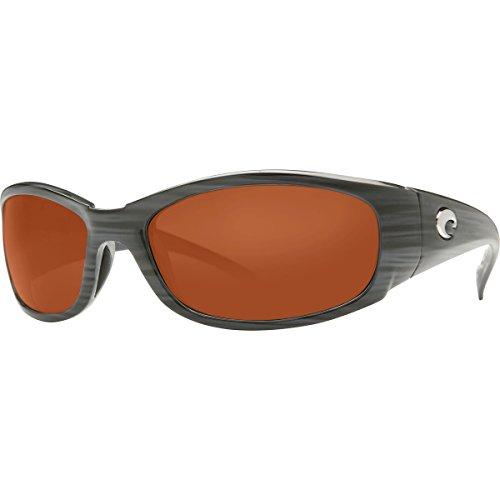 Costa Hammerhead Polarized 580G Sunglasses Silver Teak/Copper, One - Hammerhead Costa