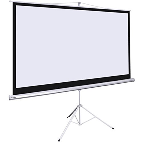 100''D Portable Tripod Projector 16:9 Screen Projection 87x49 Inch Stand Wall Outdoor Motorized Fold-able Stand by SisterYou